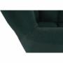 Kép 23/27 - KOMODO Dizájnos pörgő fotel, zöld/fekete