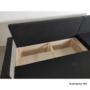 Kép 2/5 - PAULITA Univerzális ülőgarnitúra,  bézs/barna