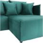 Kép 16/28 - LENY Univerzális ülőgarnitúra,  smaragd [ROH]