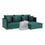 Kép 18/28 - LENY Univerzális ülőgarnitúra,  smaragd [ROH]