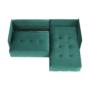 Kép 21/28 - LENY Univerzális ülőgarnitúra,  smaragd [ROH]