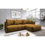 Kép 3/4 - LENY Univerzális ülőgarnitúra,  mustár színű [ROH]