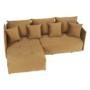 Kép 2/27 - LENY Univerzális ülőgarnitúra,  mustár színű [ROH]