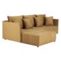 Kép 5/27 - LENY Univerzális ülőgarnitúra,  mustár színű [ROH]
