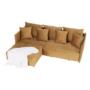 Kép 10/27 - LENY Univerzális ülőgarnitúra,  mustár színű [ROH]