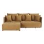 Kép 11/27 - LENY Univerzális ülőgarnitúra,  mustár színű [ROH]