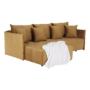 Kép 12/27 - LENY Univerzális ülőgarnitúra,  mustár színű [ROH]