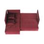Kép 6/24 - LENY Univerzális ülőgarnitúra,  piros [ROH]
