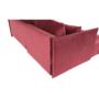 Kép 9/24 - LENY Univerzális ülőgarnitúra,  piros [ROH]