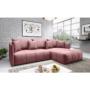 Kép 4/4 - LENY Univerzális ülőgarnitúra,  rózsaszín [ROH]