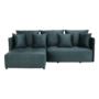 Kép 5/14 - LENY Univerzális ülőgarnitúra,  petróleumkék [ROH]