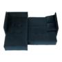 Kép 5/25 - LENY Univerzális ülőgarnitúra,  párizsi kék [ROH]