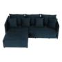 Kép 8/25 - LENY Univerzális ülőgarnitúra,  párizsi kék [ROH]