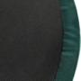 Kép 5/20 - DARON Puff,  zöld Velvet anyag/ezüst króm