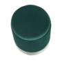 Kép 12/20 - DARON Puff,  zöld Velvet anyag/ezüst króm