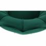 Kép 21/30 - NOBLIN Art-deco desing fotel,   smaragd bársony szövet/arany króm- arany