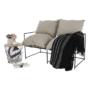 Kép 5/26 - DEKER Dupla ülés-fotel,  bézs/fekete