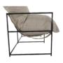 Kép 25/26 - DEKER Dupla ülés-fotel,  bézs/fekete