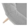 Kép 8/20 - EKIN Fotel,  szürke/bükk