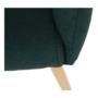 Kép 11/15 - EKIN Fotel,  smaragd színű/bükk