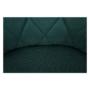 Kép 13/15 - EKIN Fotel,  smaragd színű/bükk