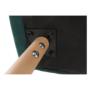 Kép 14/15 - EKIN Fotel,  smaragd színű/bükk