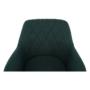 Kép 15/15 - EKIN Fotel,  smaragd színű/bükk