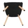 Kép 12/16 - EKIN Fotel,  fekete/bükk