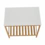 Kép 6/16 - SELENE Polcos kisasztal,  természetes/fehér [TYP 5]
