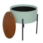 Kép 3/25 - MOSAI kisasztal, neo mint/természetes/fekete