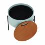 Kép 14/25 - MOSAI kisasztal, neo mint/természetes/fekete