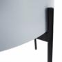 Kép 26/26 - MOSAI kisasztal, szürke/természetes/fekete