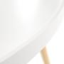Kép 16/24 - SANSE Kisasztal,  fehér/természetes [TYP 1]