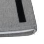 Kép 12/20 - BOKSA Cipőtároló pad,  fehér/szürke