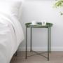 Kép 5/32 - TRIDER Kisasztal levehető tálcával,  zöld