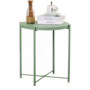 Kép 6/32 - TRIDER Kisasztal levehető tálcával,  zöld