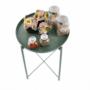 Kép 9/32 - TRIDER Kisasztal levehető tálcával,  zöld