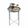 Kép 15/32 - TRIDER Kisasztal levehető tálcával,  zöld