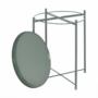 Kép 21/32 - TRIDER Kisasztal levehető tálcával,  zöld