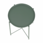Kép 23/32 - TRIDER Kisasztal levehető tálcával,  zöld