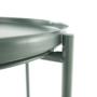 Kép 31/32 - TRIDER Kisasztal levehető tálcával,  zöld