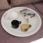 Kép 3/17 - RENDER Kisasztal levehető tálcával,  fehér