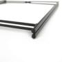 Kép 11/22 - RENDER Kisasztal levehető tálcával,  fekete