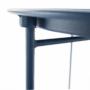 Kép 19/26 - RENDER Kisasztal levehető tálcával,  sötétkék