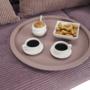 Kép 13/27 - RENDER Kisasztal levehető tálcával,  nude rózsaszín