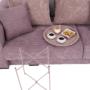 Kép 14/27 - RENDER Kisasztal levehető tálcával,  nude rózsaszín