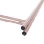 Kép 17/27 - RENDER Kisasztal levehető tálcával,  nude rózsaszín