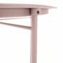 Kép 21/27 - RENDER Kisasztal levehető tálcával,  nude rózsaszín