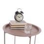Kép 24/27 - RENDER Kisasztal levehető tálcával,  nude rózsaszín