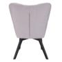 Kép 4/27 - FONDAR Dizájnos fotel,  szürke/fekete